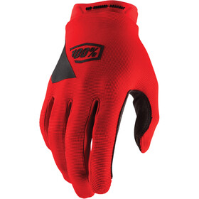 100% Ridecamp Guantes, red